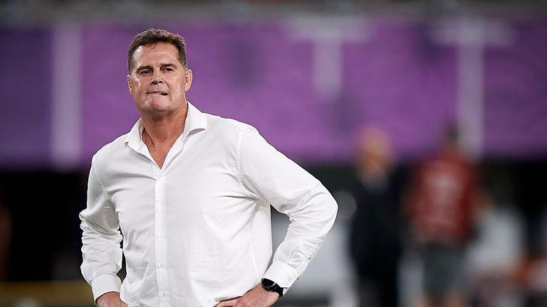 South Africa head coach Rassie Erasmus