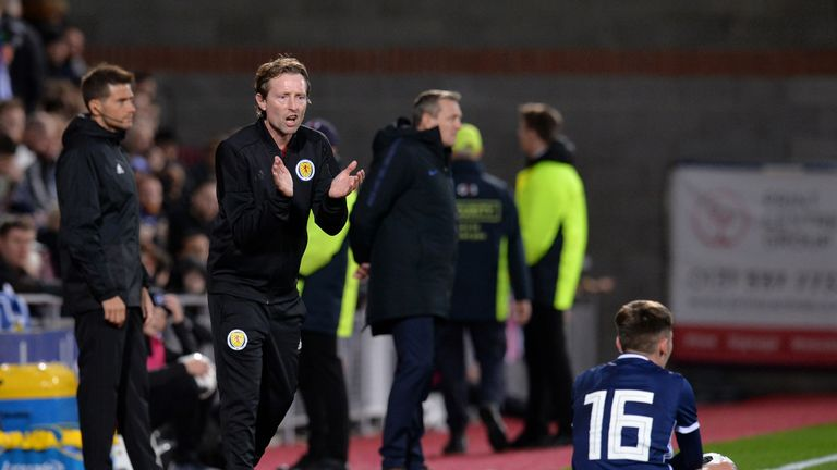 Scotland U21 manager Scot Gemmill believes Gilmour has a bright future ahead of him