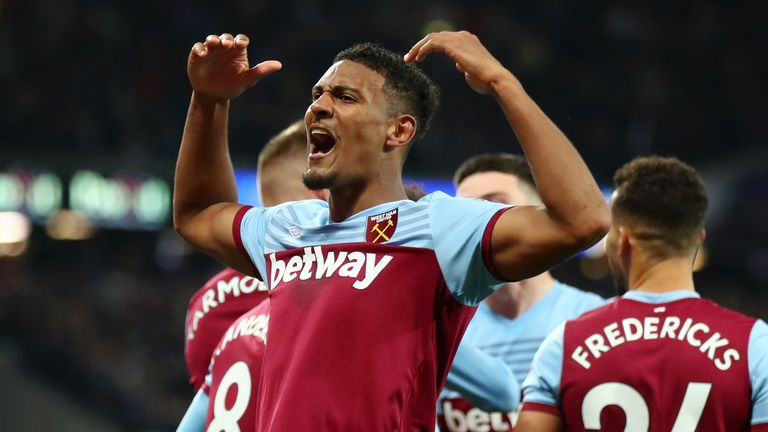 Sebastian Haller has scored four Premier League goals but has looked isolated