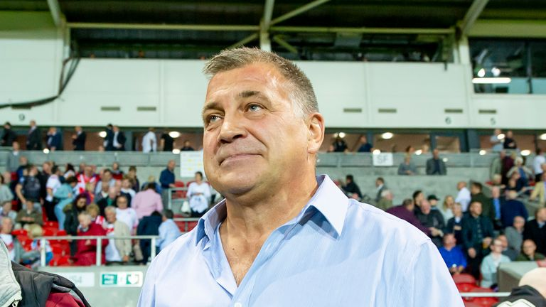 Shaun Wane is apparently interested in the England role