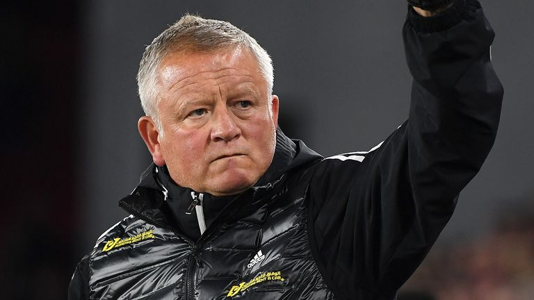 Chris Wilder has led Sheffield United to sixth place before the weekend's action