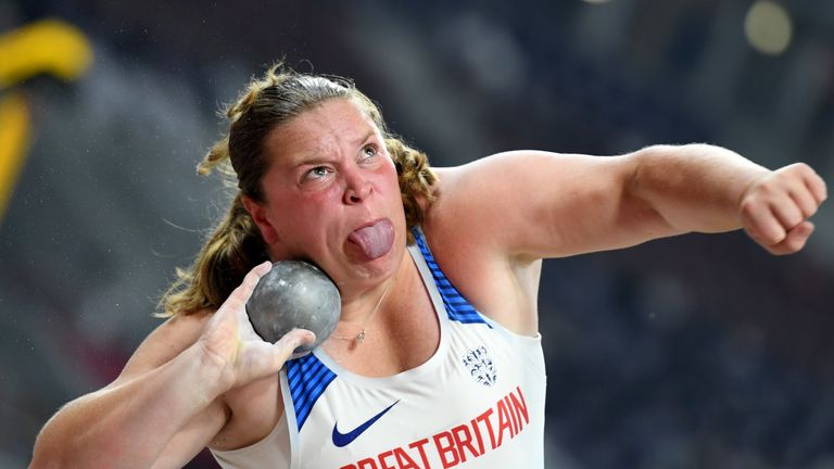 McKinna secured her qualification for Tokyo 2020 with a personal best throw of 18.61m