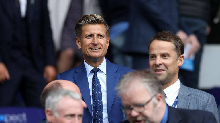 Steve Parish has closed Crystal Palace's training ground in Beckenham for a week in an effort to contain the spread of coronavirus
