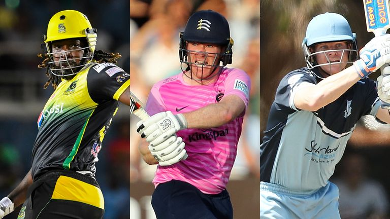 England one-day captain Eoin Morgan (C) is one of the players in the draft