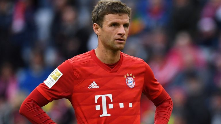 Thomas Muller will not be allowed to leave Bayern Munich in January, according to Sky Germany