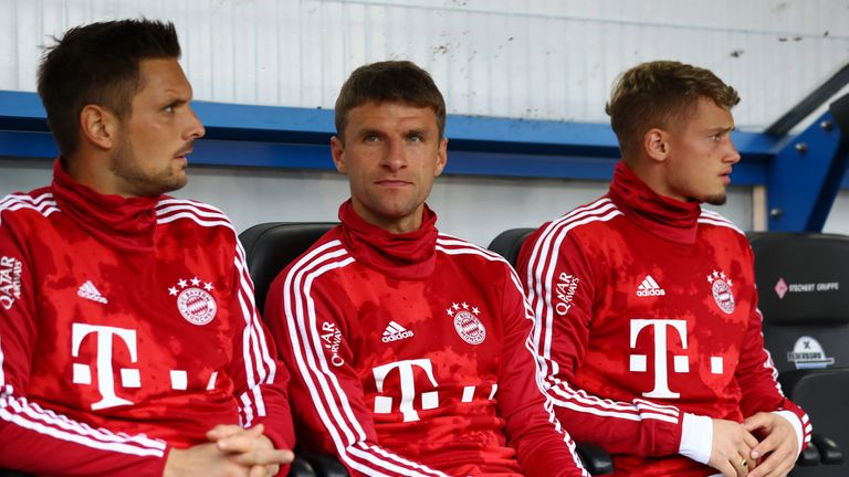Muller is unhappy with his lack of game time at Bayern