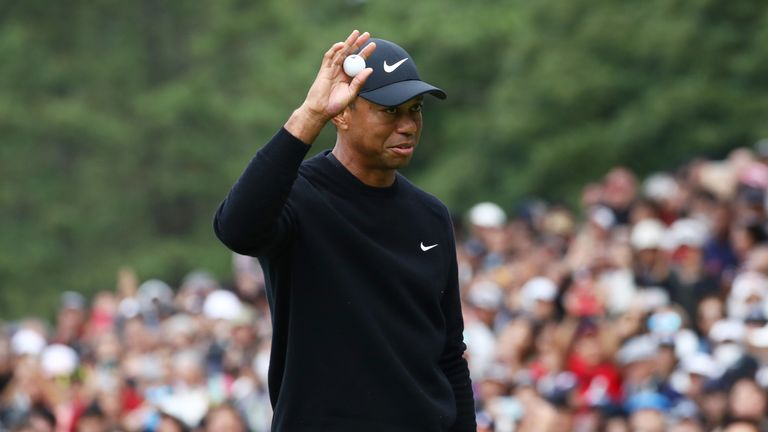 Woods won the inaugural Zozo Championship in October to register his 82nd PGA Tour title