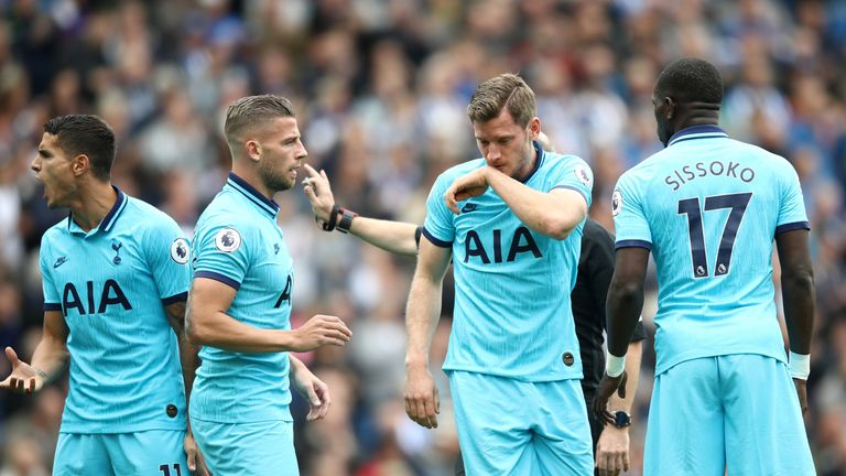 Tottenham have lost five games in all competitions this season