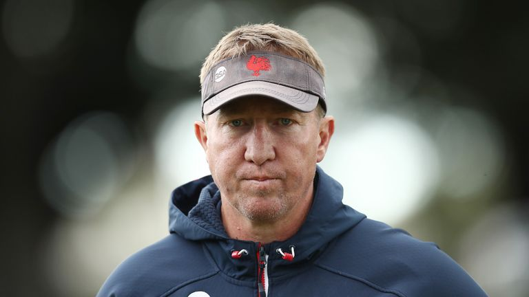 Roosters head coach Trent Robinson has been a massive influence on Justin Holbrook