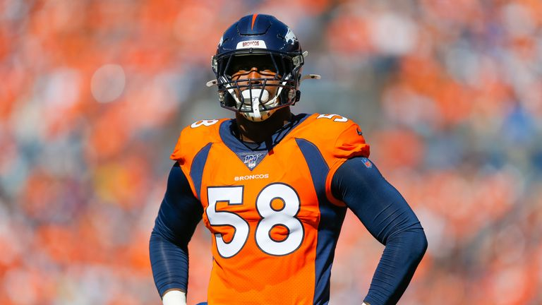 Von Miller is a pass-rushing force when on his game