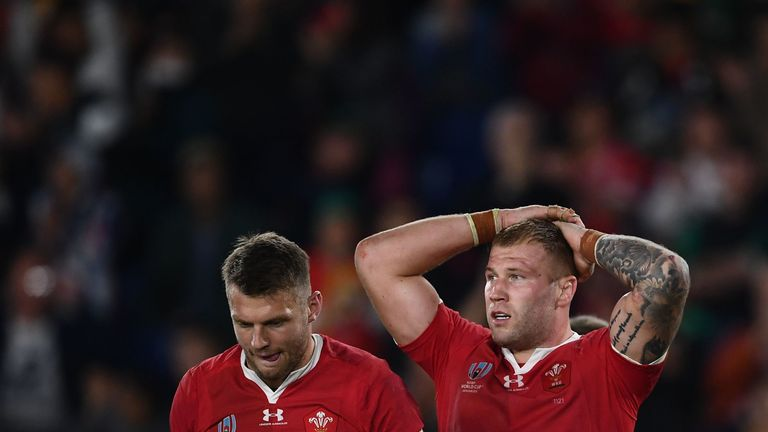 Wales fell narrowly short in their bid to reach the Rugby World Cup final