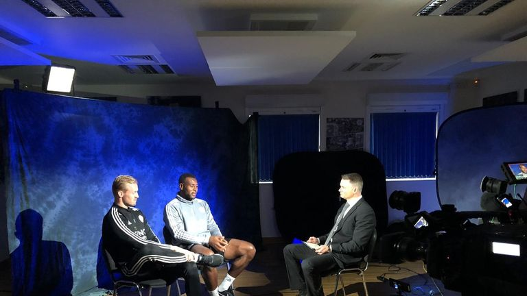 Wes Morgan and Kasper Schmeichel spoke to Sky Sports News ahead of the first anniversary of Vichai's death