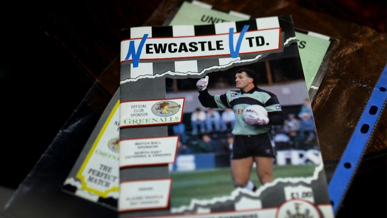The matchday programme for the game between Newcastle and Wolves