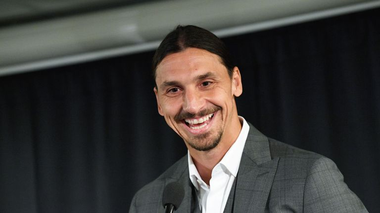 Could Zlatan Ibrahimovic be returning to Europe?