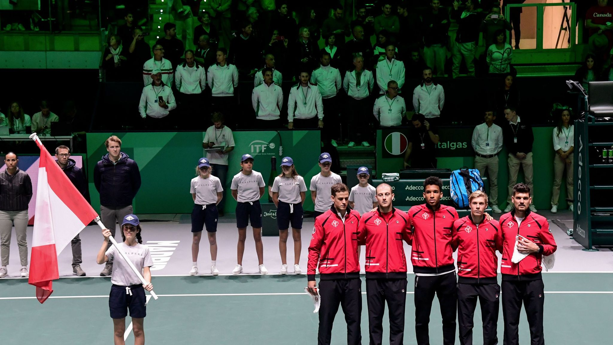 Spain ease into quarter-finals of Davis Cup in Madrid