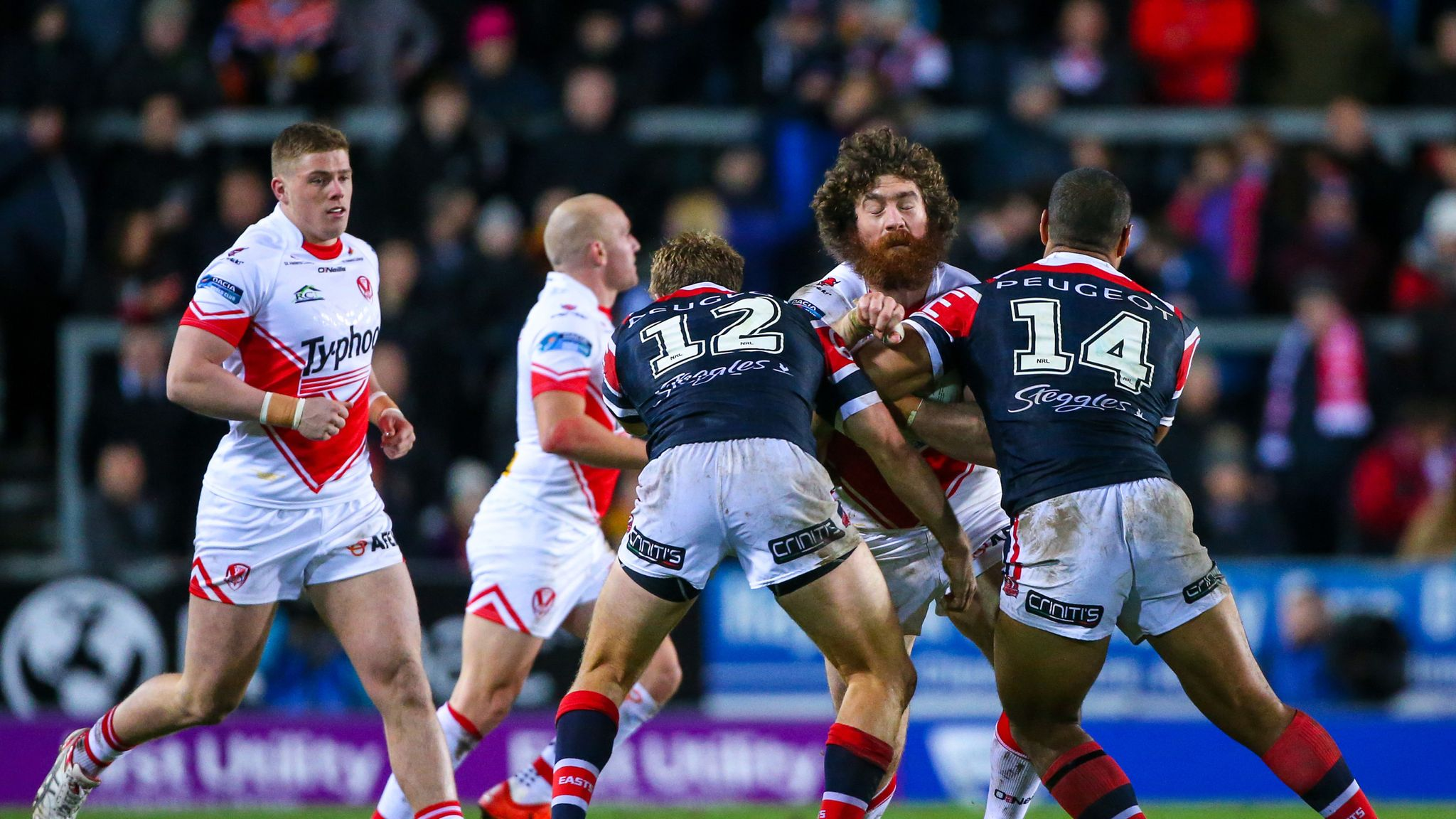 World Club Challenge: St Helens set for Sydney Roosters clash in 2020