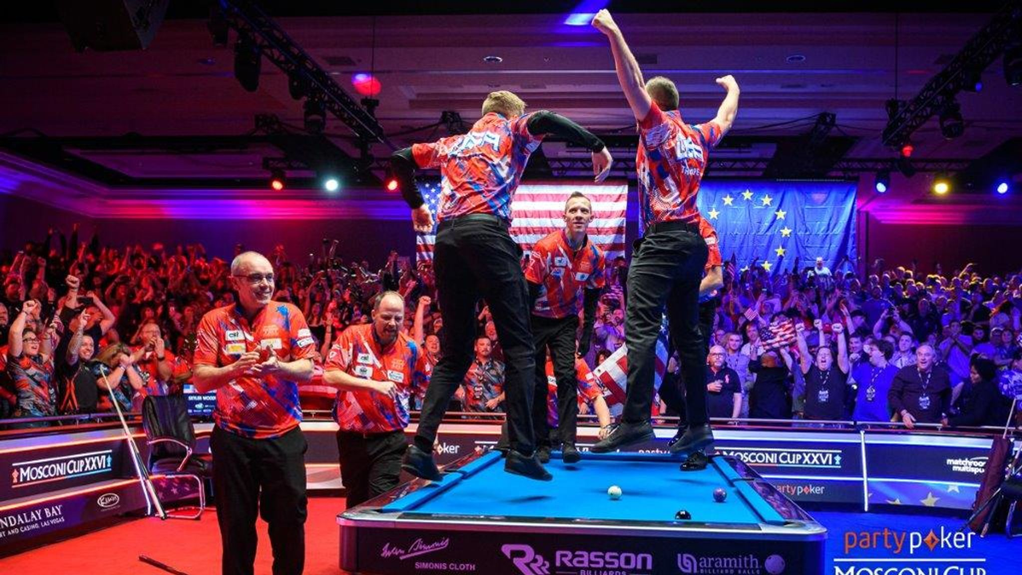 Mosconi Cup: Team USA retain trophy with victory over Team Europe ...