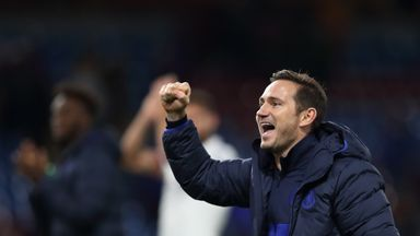 fifa live scores - Frank Lampard wins Manager of the Month award for October