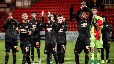 fifa live scores - Manchester United youngsters set for Europa League showing in Kazakhstan