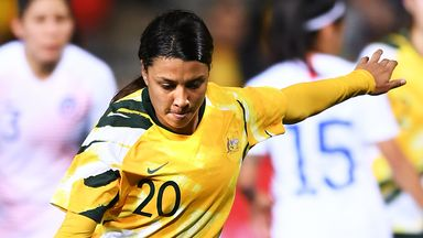 Australia striker Kerr joins Chelsea Women