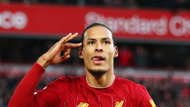 fifa live scores - Liverpool's Virgil van Dijk thrilled to be in Ballon d'Or frame
