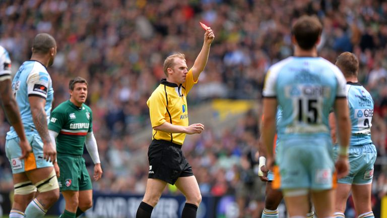 His 2013 red card in the Premiership final cost him a British & Irish Lions place