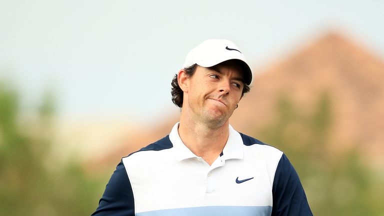 McIlroy started the week sixth in the Race to Dubai standings