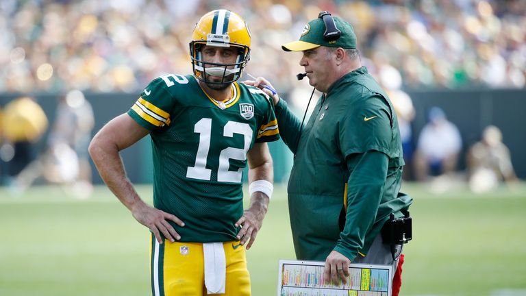 Rodgers had issues with his relationship with previous head coach Mike McCarthy