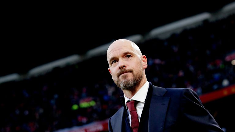 Bayern were interested in Erik ten Hag, but the Dutchman says he will remain at Ajax at least until the end of the 2019-20 season