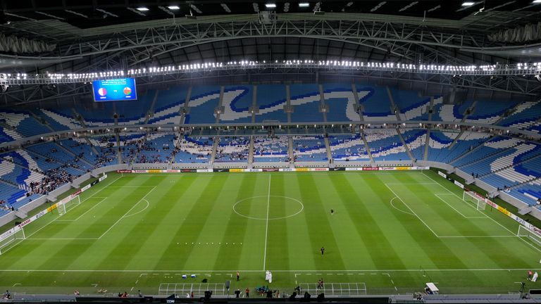 Al Janoub Stadium is one of the host stadiums for the 2022 World Cup in Qatar