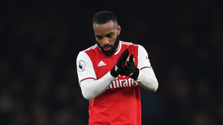 Alexandre Lacazette's two goals were not enough for Arsenal to beat Southampton