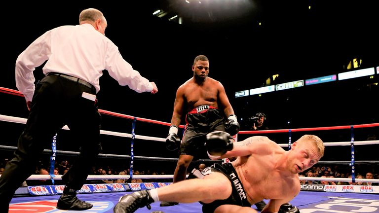 'Freddie' overcame a second round knockdown