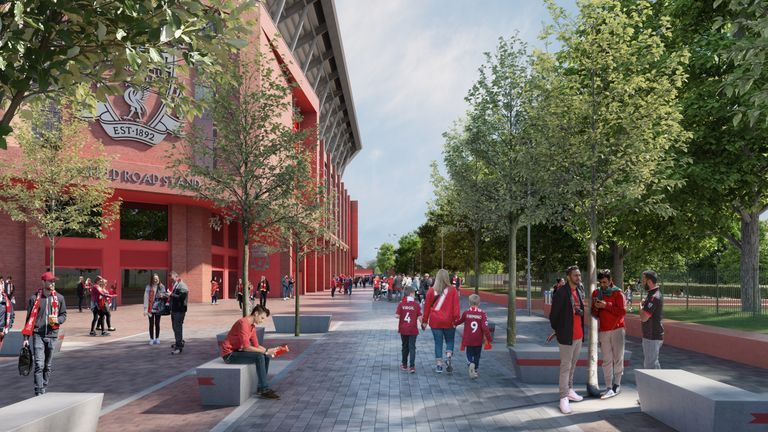 Liverpool announce public consultation for Anfield expansion