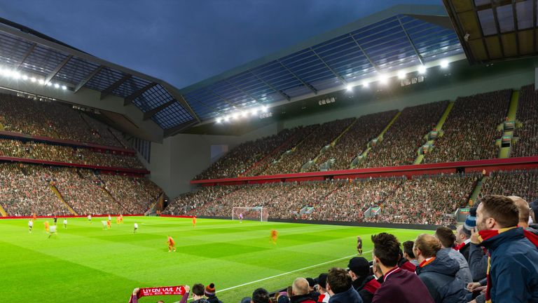 Liverpool want to host GAA matches after Anfield expansion