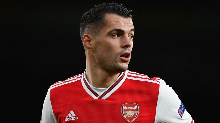 Granit Xhaka could be set to leave Arsenal in January