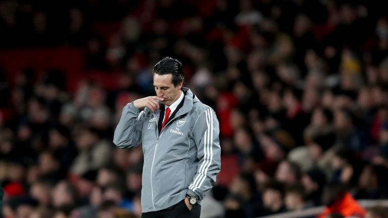 Emery's Arsenal looked muddled again on Thursday