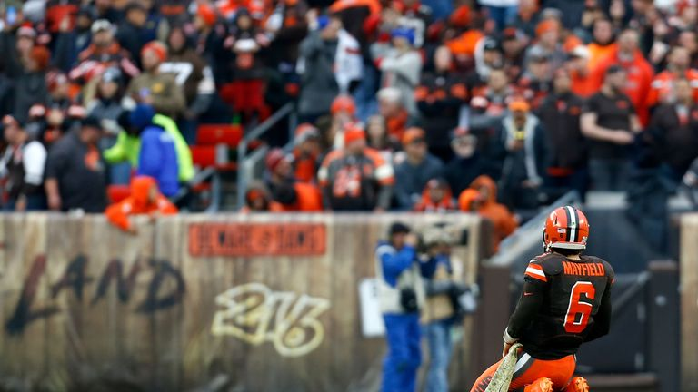 Baker Mayfield and the Cleveland Browns were expected to compete this season, but now they are fighting to stay alive