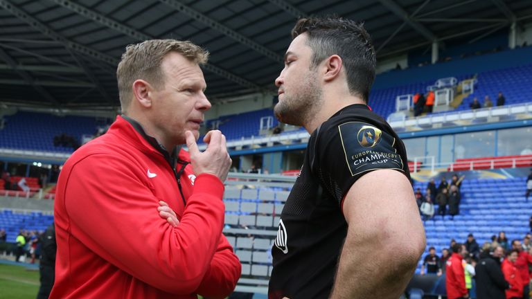 """Mark McCall, the Saracens director of rugby, has described Barritt as a """"truly great captain"""""""