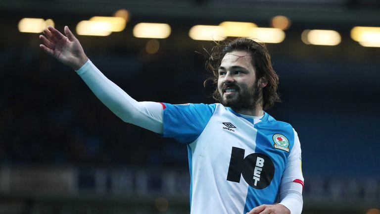 Blackburn's Bradley Dack has suffered a long-term injury