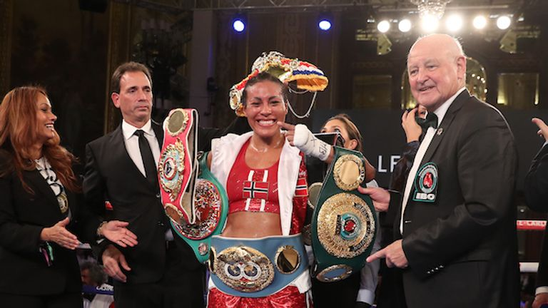 Fellow Matchroom Boxing fighter Cecilia Braekhus is a possible opponent for Taylor in 2020