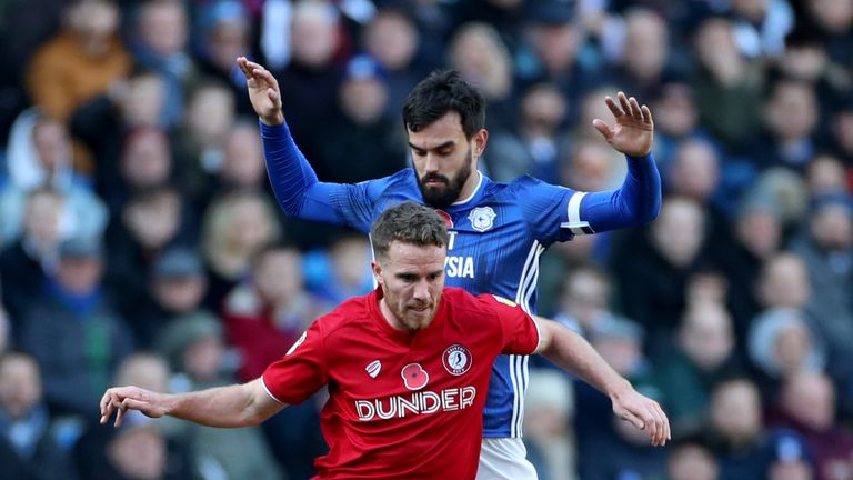Marlon Pack went head to head with his old side for the first time since his summer move to Cardiff