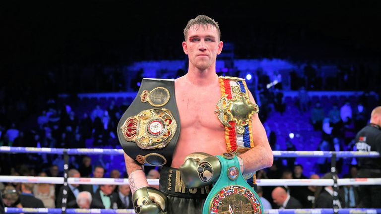 Callum Smith has pursued a fight with Canelo