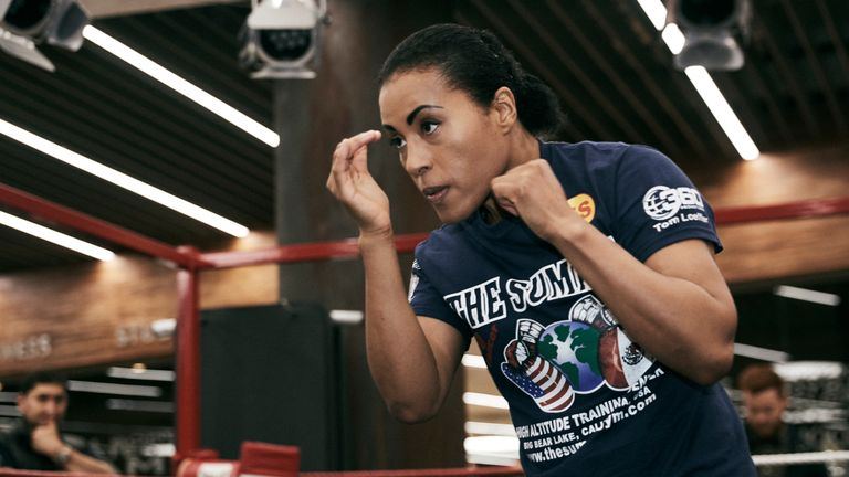 Cecilia Braekhus is in her 26th world title fight