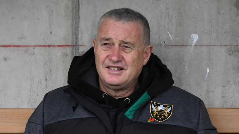 Chris Boyd has brought good fortune back to Franklin's Gardens