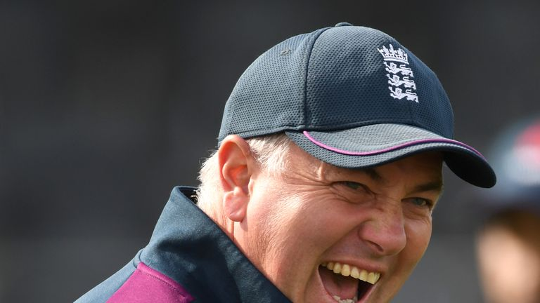 Chris Silverwood has his sights on winning the Ashes back in Australia in 2021-22