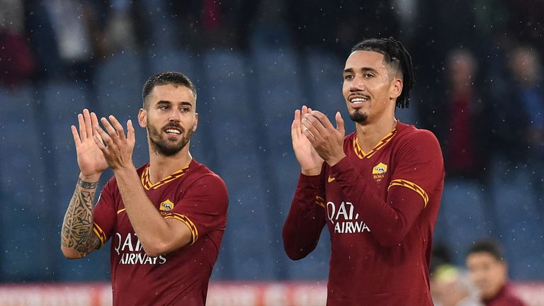 Chris Smalling has impressed for Roma