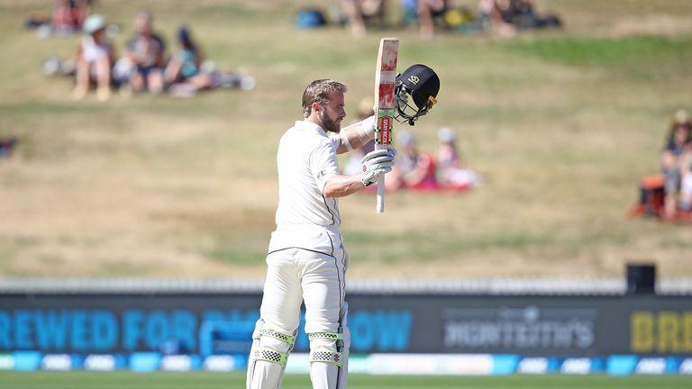 Williamson hit an unbeaten 200 against Bangladesh at Hamilton earlier this year