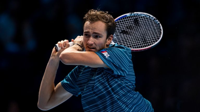 Daniil Medvedev's quest to beat his opponent continues