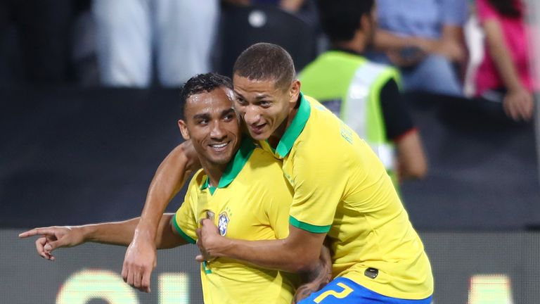 Brazil return to winning ways with 3-0 victory