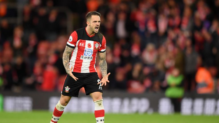 Danny Ings celebrates his equaliser just five minutes into the restart